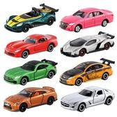 汽車模型 TOMY多美卡合金小車模型男孩小汽車玩具車跑車蘭博基尼GTR豐田86