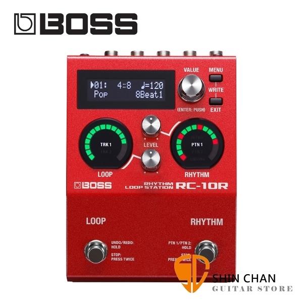【缺貨】Boss RC-10R 歌曲循環錄音節奏機/循環工作站 Rhythm Loop Station 原廠公司貨 一年保固 RC10R