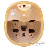 足浴器 全自動按摩洗腳盆電動加熱按摩泡腳桶足療盆足浴器 果果輕時尚 igo 220V