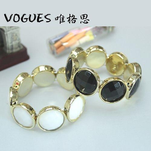 普普風復古手環(2色)  單售170元  情人節禮物【Vogues唯格思】C017