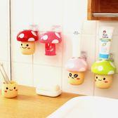 自動擠牙膏器浴室壁掛吸盤創意情侶兒童牙刷架漱口杯套裝 WE973【東京衣社】