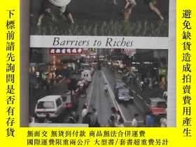 二手書博民逛書店英文原版罕見Barriers to Riches by Step
