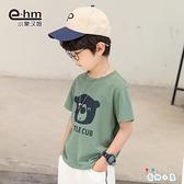 男童短袖t恤衫兒童半袖韓版中大童上衣【奇趣小屋】