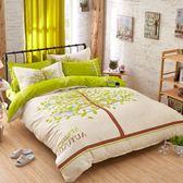 簡約床上四件套棉質棉質夏季被套1.8m床單雙人2.0米 【萬聖節促銷】