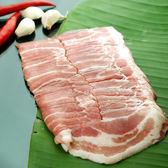 自然豬五花火鍋片