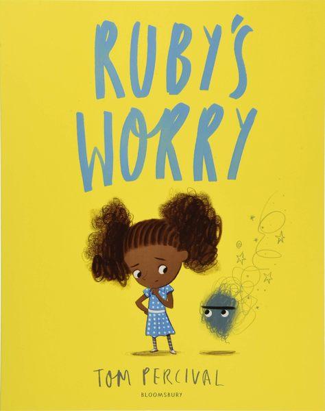 【麥克書店】RUBYS WORRY /英文繪本《主題:自我認同.差異性.情緒管理》