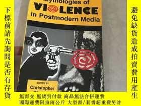 二手書博民逛書店Mythologies罕見of Violence in Post