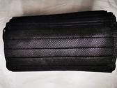 024700 (雙鋼)口罩B-時尚黑平面醫療口罩30入