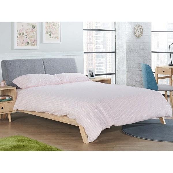 床架 床台 AM-369-3 阿芙拉實木5尺床檯 (不含床墊) 【大眾家居舘】