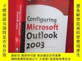 二手書博民逛書店Configuring罕見Microsoft Outlook (