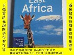 二手書博民逛書店英文原版《Lonely罕見Planet EAST AFRICA