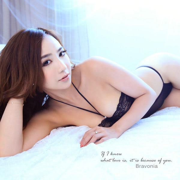 熱戀愛辣-性感激情火辣辣 爆乳誘惑 性感睡衣 情趣睡衣 - 黑 - 波曼妮亞