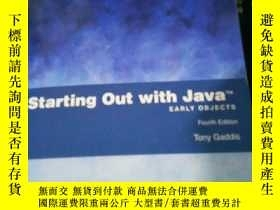 二手書博民逛書店starting罕見out with java eariy ob