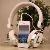 蘋果 oppo手機耳機頭戴式 音樂有線重低音筆記本電腦通用耳麥男女【米蘭街頭】igo