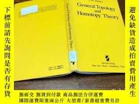 二手書博民逛書店Generally罕見Topology and Homotopy