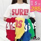 T袖-Tirlo-SURE!多彩繽紛寬版...