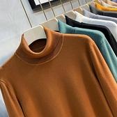 2021秋冬新款高領毛衣男韓版潮流加厚半針織衫內搭男士打底衫毛線