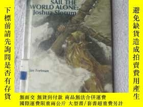 二手書博民逛書店First罕見to Sail the World Alone: