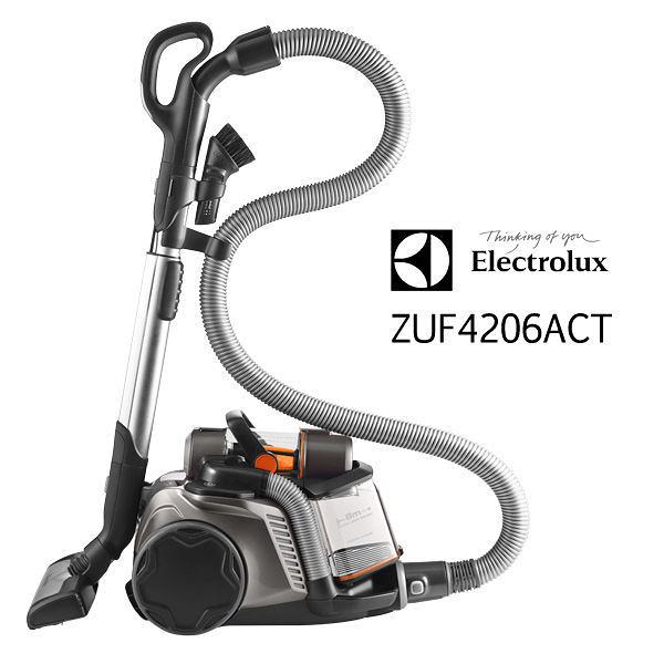 伊萊克斯 ZUF4206ACT 頂級集塵盒電動除螨吸塵器【ZUA3860旗艦版ZUF4206ACT歐洲原裝】