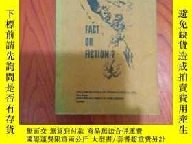 二手書博民逛書店英文書:fact罕見or fiction? Y23044