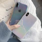 售完即止-小清新女款iPhoneX手機殼鐳射8plus全包硬殼7p日韓蘋果6splus新款庫存清出3-22S