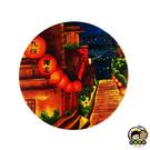 【收藏天地】台灣紀念品*神奇的陶瓷吸水杯墊-九份街道∕馬克杯 送禮 文創 風景 觀光  禮品
