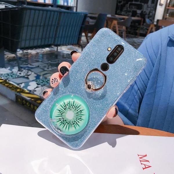 NOKIA 9pureview手機殼諾基亞X71閃粉流沙殼X7外殼X6情侶網紅殼7.1PLUS女款8.1減壓6.1plus硅膠保護套小清新