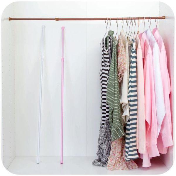 [超豐國際]衣柜免釘伸縮分層隔板置物架寢室宿舍神器柜子隔層收納層架