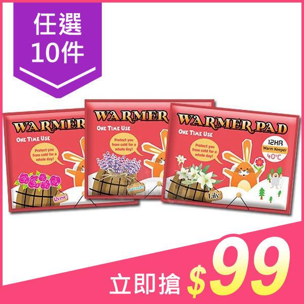 【十件$99】Beloved&Co 樂芙蜜小花兔香味暖暖包(1片入) 3款香味【小三美日】