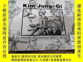 二手書博民逛書店Kim罕見Jung-Gi (Sketch Collection 2001-2012)Y234193 1 1