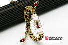 《頂級胎毛手鍊(白色)》—臍帶印章,臍帶...