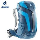 丹大戶外【Deuter】德國 AC Lite 26L 網架直立式拔熱透氣休閒旅遊登山背包 3420316 深藍/藍