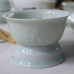 影青瓷器 濾茶器