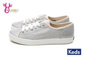 Keds KICKSTART MATTE MET ROSE 帆布鞋 女款 休閒鞋 H9898#銀色◆OSOME奧森童鞋