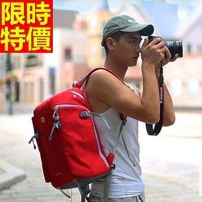 相機包-多功能防水帆布雙肩攝影包3色68ab35[時尚巴黎]