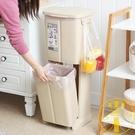 北歐干濕分離創意雙層腳踩分類垃圾桶廚房家用帶蓋【雲木雜貨】