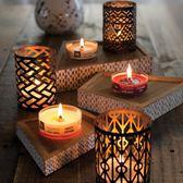 香薰蠟燭WoodWick美國進口香薰蠟燭WW木芯精油大豆蠟凈化空氣香氛 韓流時裳