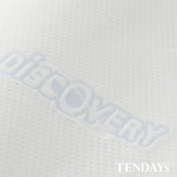 記憶枕_TENDAYs-DS柔眠枕(晨曦白)8cm高