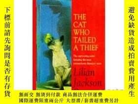 二手書博民逛書店Cat罕見Who Tailed a Thief (The Cat Who... Mys...-跟蹤小偷的貓。。。我
