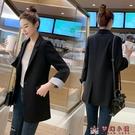 chic西裝外套女秋季2020新款韓版一粒扣休閒網紅修身小西服上衣潮【快速出貨】