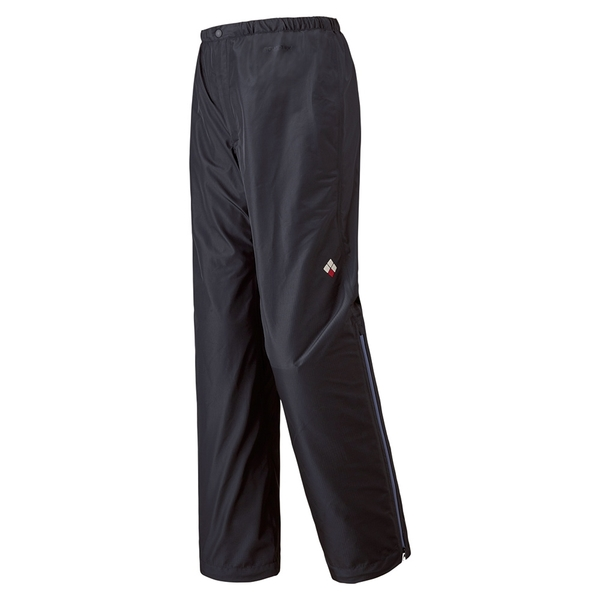 [好也戶外]mont‧bell Rain Dancer Pants女款防水透氣雨褲 黑 NO.1128568