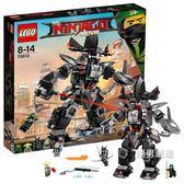 樂高積木樂高幻影忍者系列70613暗黑霸王機甲LEGO積木玩具xw
