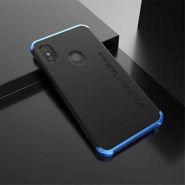小米紅米 Note 5 5 Pro 5A 金屬手機殼 SOLACE TPU 金屬邊框 個性創意保護套