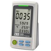 泰仕TES-5321 PM2.5 空氣品質監測計 監測懸浮微粒(PM2.5)濃度