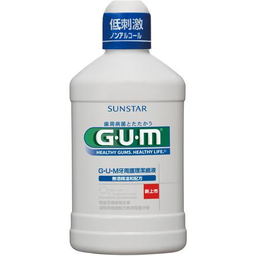 日本全仕康GUM牙周護理潔齒液500ml【康是美】