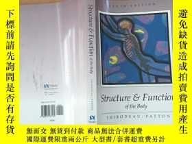 二手書博民逛書店Struchure罕見Function of the body