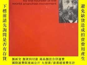 二手書博民逛書店Bakunin罕見on Anarchy 美國哲學家道爾戈夫編輯《