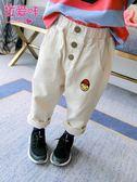 兒童長褲女童洋氣牛仔褲褲子韓版女寶寶寬鬆小童  伊衫風尚