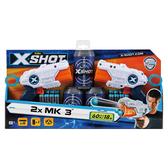 X-SHOT 3發發射器2入組