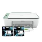 【搭67原廠墨水匣一黑一彩】HP Deskjet 2722 相片噴墨多功能事務機